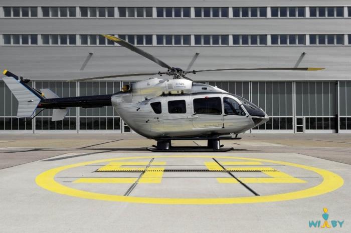 Вертолет от Mercedes-Benz