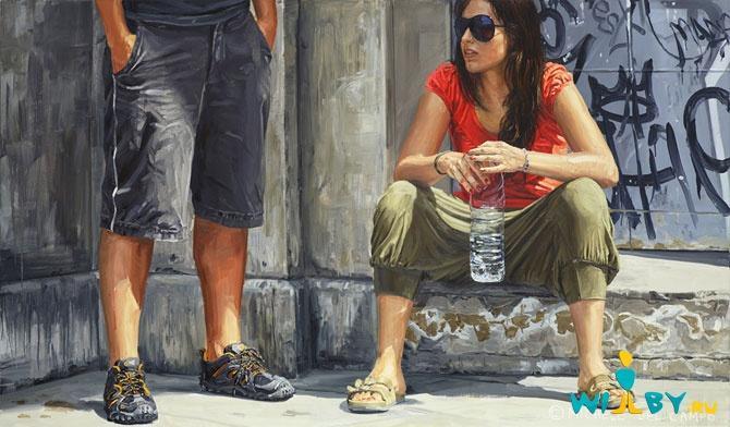 Микеле Дель Кампо Фотореалистичные картины 1339839372_24