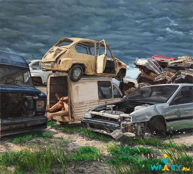 Микеле Дель Кампо Фотореалистичные картины 1339839375_3