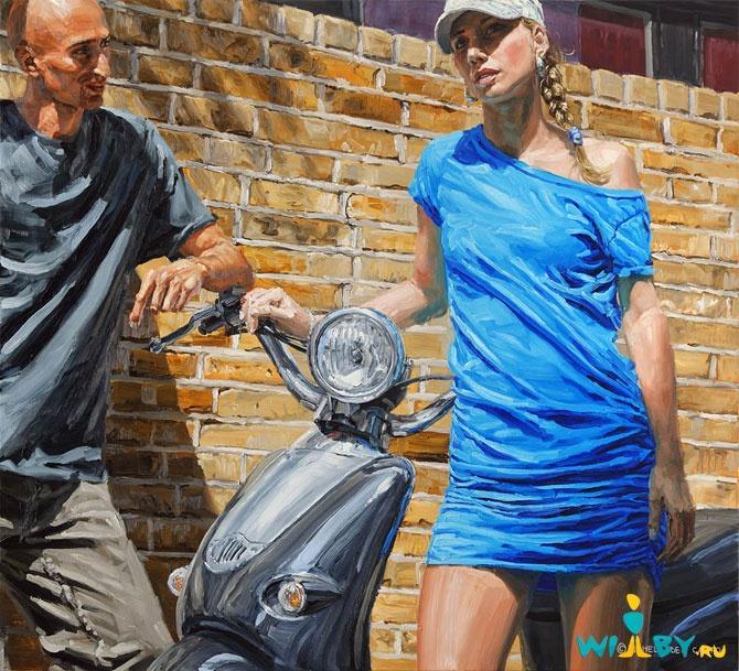 Микеле Дель Кампо Фотореалистичные картины 1339839382_231