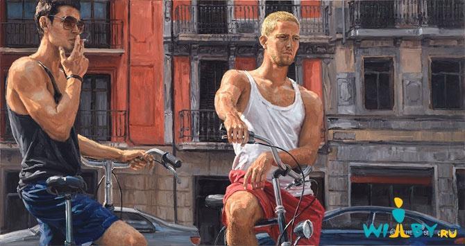 Микеле Дель Кампо Фотореалистичные картины 1339839393_21