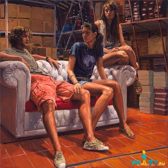 Микеле Дель Кампо Фотореалистичные картины 1339839417_19