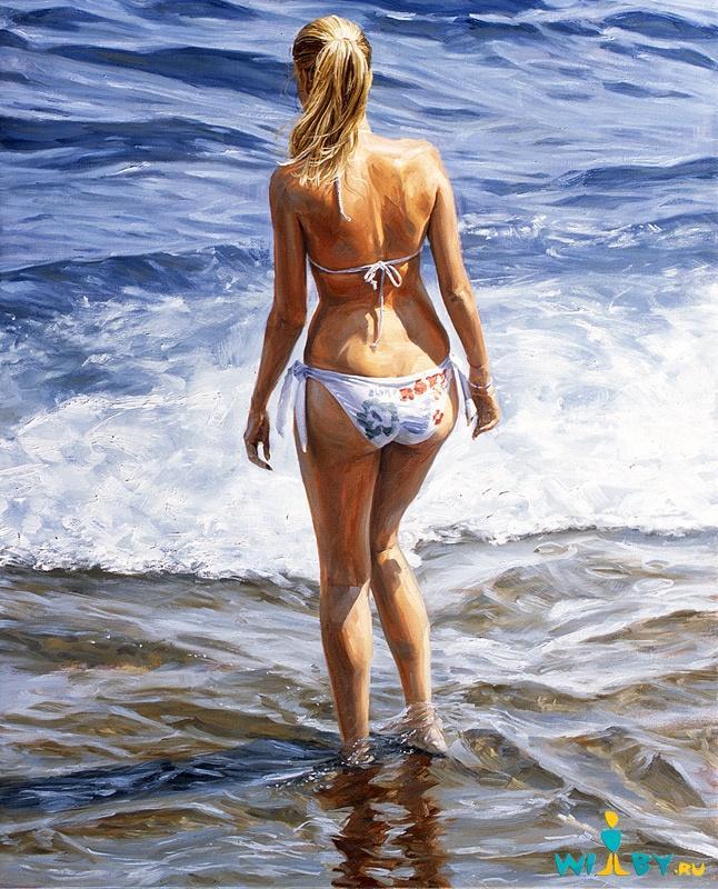 Микеле Дель Кампо Фотореалистичные картины 1339839424_9