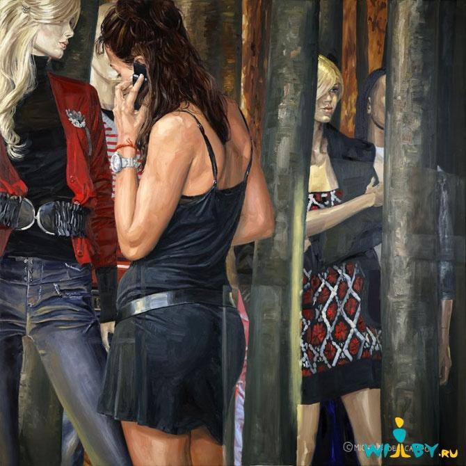 Микеле Дель Кампо Фотореалистичные картины 1339839426_15