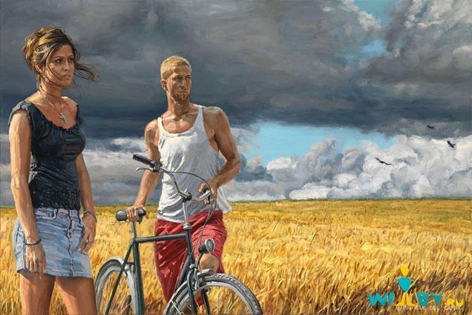 Микеле Дель Кампо Фотореалистичные картины 1339839437_18