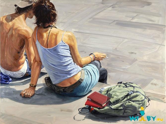 Микеле Дель Кампо Фотореалистичные картины 1339839438_7